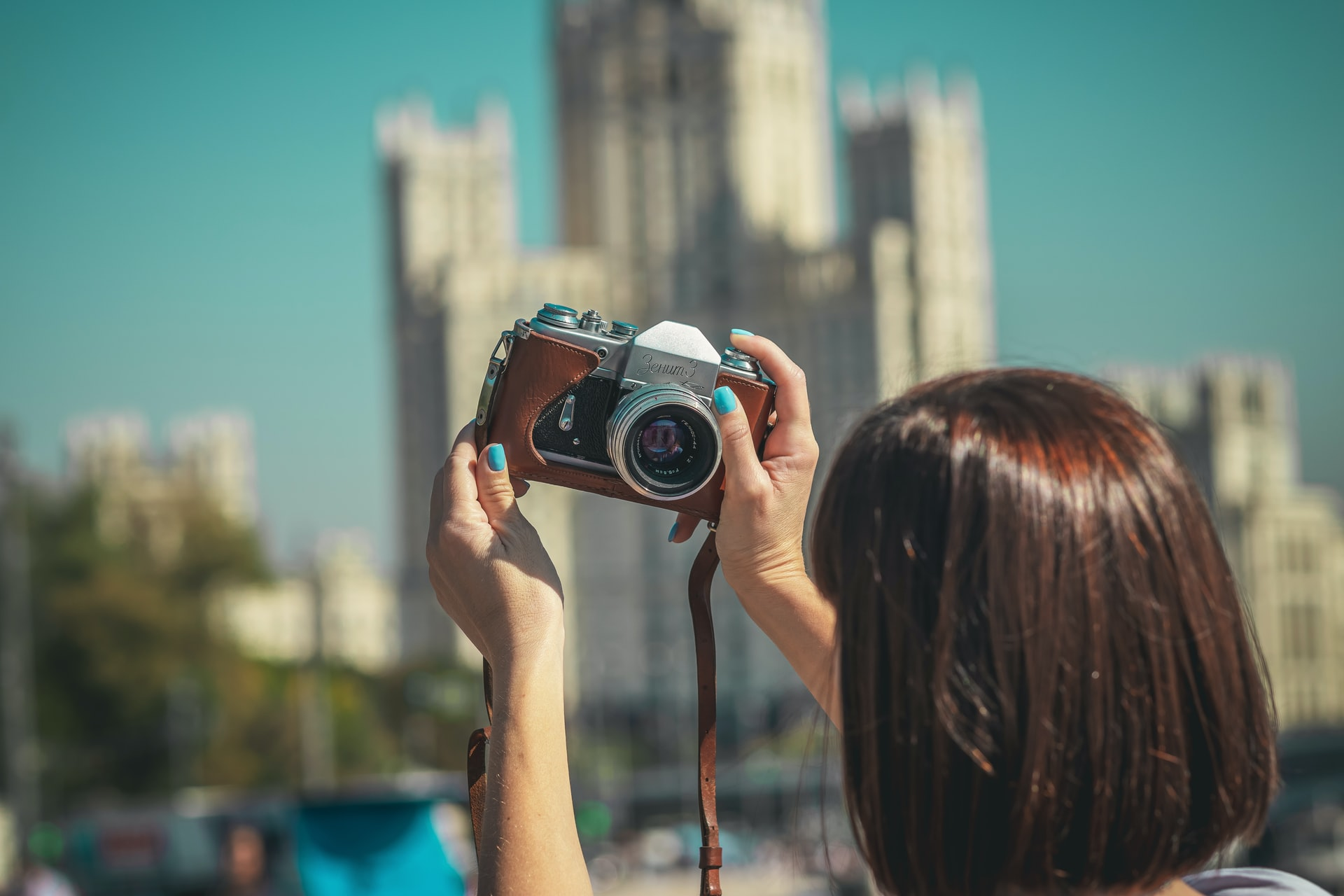 How to get over the fear of being camera shy